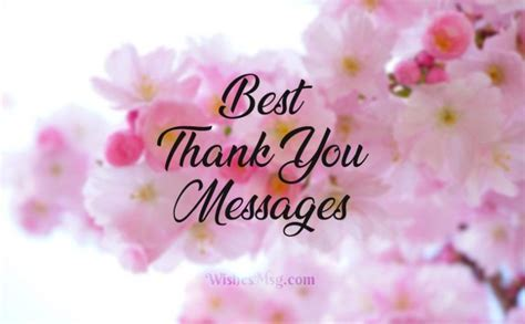 100 Best Thank You Messages and Wishes   WishesMsg