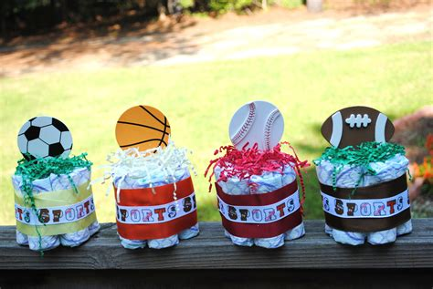 Sports Baby Shower by Baby Shower Decorations Sports Baby Shower