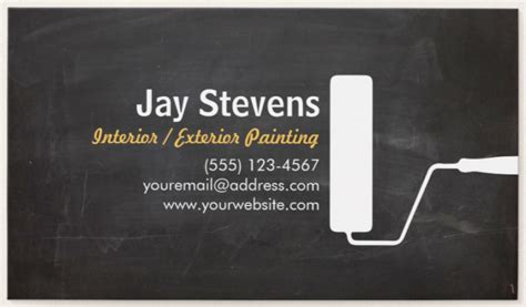 painting business card template psd 14 painter business card designs templates psd ai
