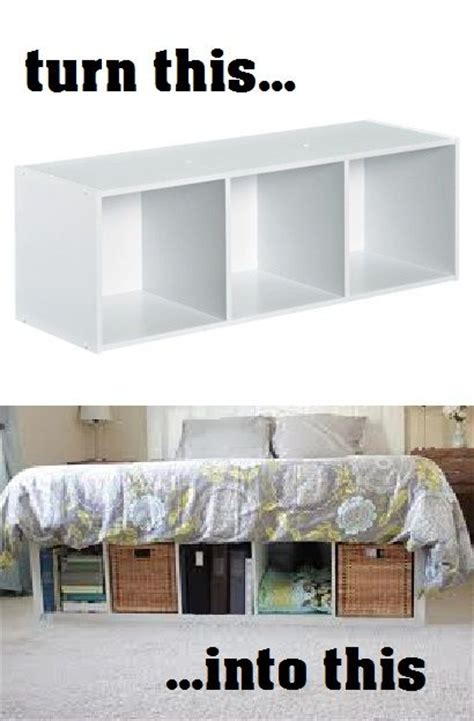 diy bedroom storage ideas diy platform bed 5 you can make modern desk diy
