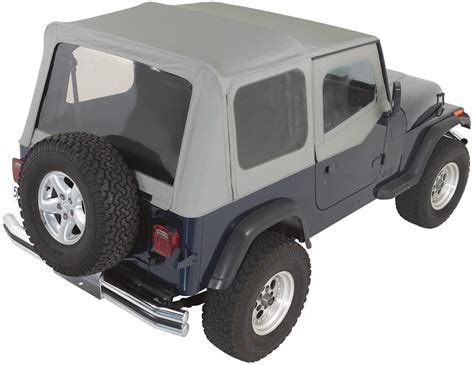 95 Jeep Wrangler Soft Top Rage Products Complete Soft Top Kit With Doors