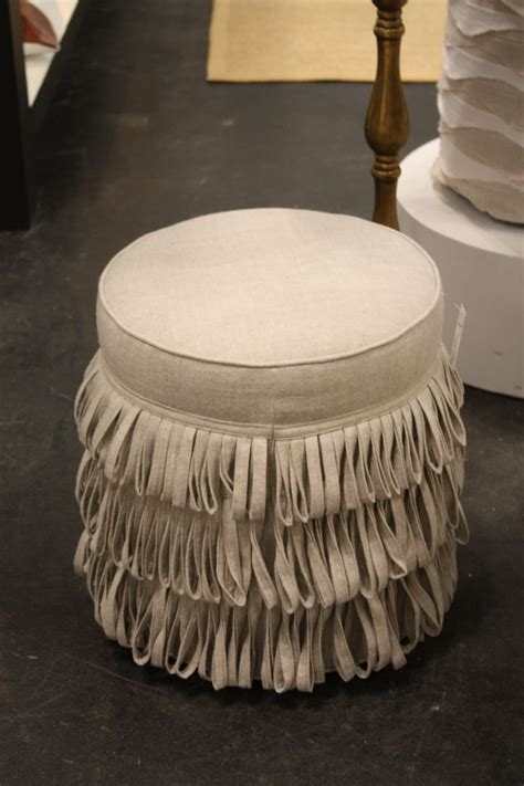 tufted ottoman with fringe how to decorate a living room a top 50 ideas guide
