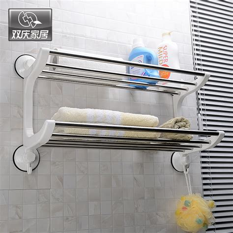 Wall Mounted Towel Racks For Bathrooms by Stainless Steel Towel Rack Bathroom Towel Rack Bathroom