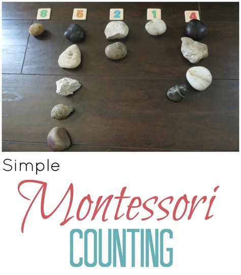 montessori counting simple montessori counting activity