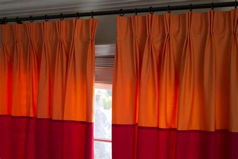 pleated curtains diy pinch pleat versus ripple fold drapery with pictures ehow