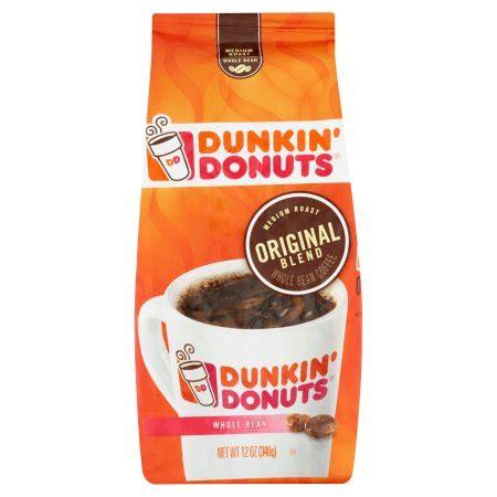 Blend Coffee Bean 881334000511 upc dunkin donuts original blend medium