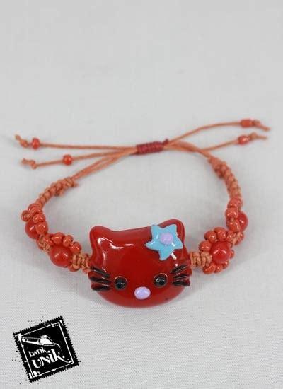 Hello Tali 1 gelang tali tarik hello warna gelang etnik murah batikunik