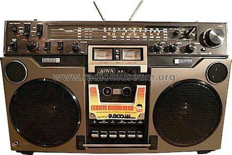 aiwa radio cassette recorder stereo radio cassette recorder 950 radio aiwa co ltd toky