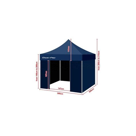 gazebo impermeabile gazebo tenda impermeabile 3x3 mercato commercio fiere