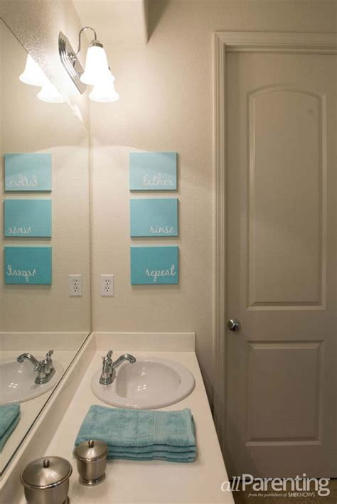 best art for bathroom 35 fun diy bathroom decor ideas you need right now diy