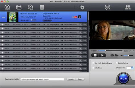 dvd format converter mac macx free dvd to flv converter for mac free solution to