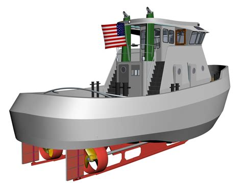 tugboat design a small but full featured tugboat