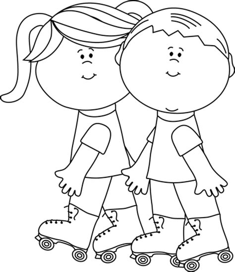 kid clipart black and white black and white clipart collection