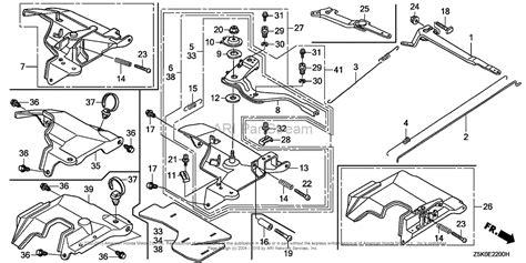 honda gx200 carburetor diagram honda gx 270 engine diagram honda free engine image for