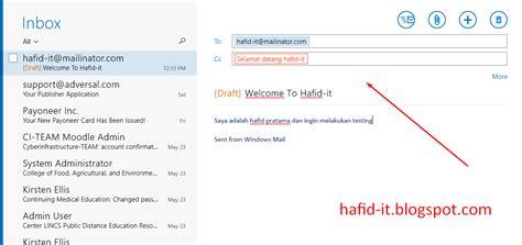 membuat alamat email cara membuat alamat email palsu gambar