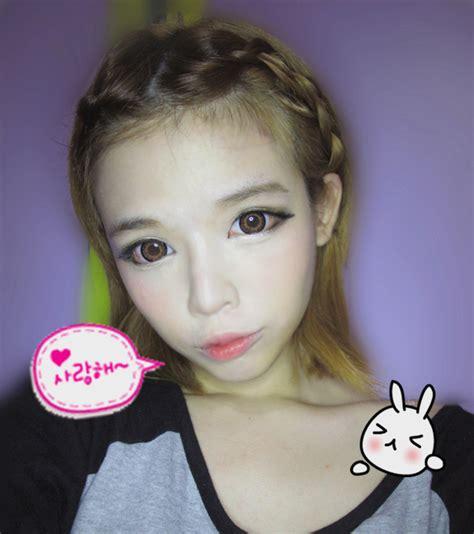 tutorial makeup ulzzang korean ulzzang makeup tutorial before and after mugeek vidalondon