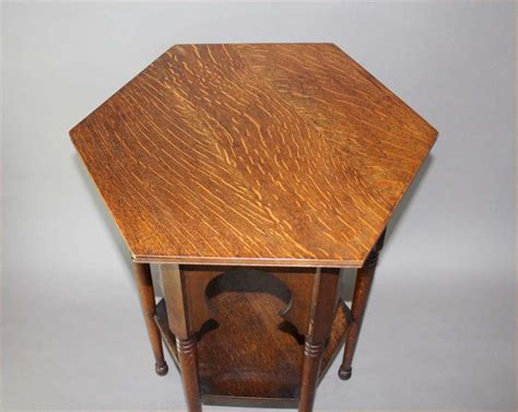 arts and crafts table ls moorish oak arts and crafts occasional table for liberty