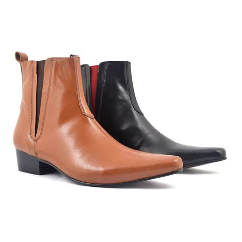elvis pointed heel chelsea boot gucinari