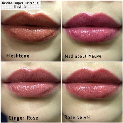 revlon lustrous lipsticks velvet makeup