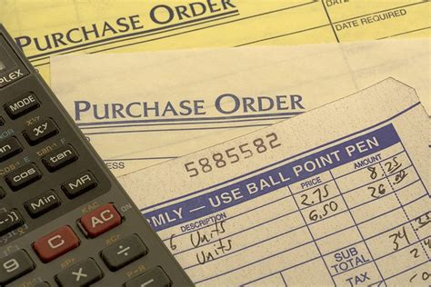 purchase order template instructions   create