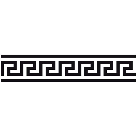 cenefas egipcias vinilo decorativo cenefa griega espiral