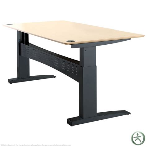 Sit Stand Electric Desk Shop Conset 501 11 Laminate Electric Sit Stand Desk