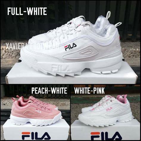 Sepatu Fila Shopee sepatu fila white sneakers fashion cewek cewe sport