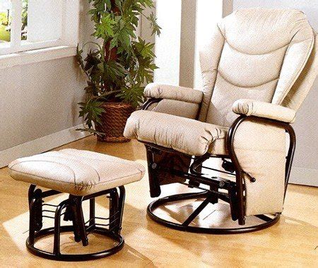 glider rocker and ottoman black friday deals black friday bone leatherette cushion glider recliner
