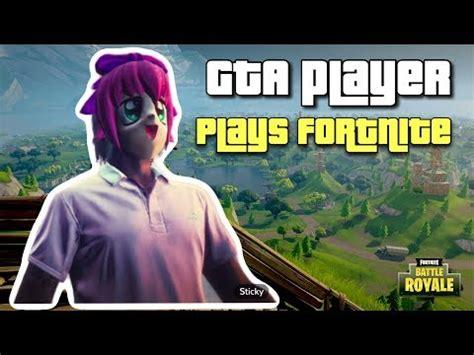 fortnite vs gta gta players play fortnite battle royale