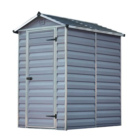 palram  plastic skylight grey shed greenhouse stores