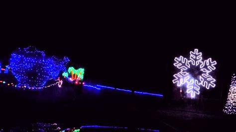 llong view lake park christmas light display ks gopro of in the park at longview lake