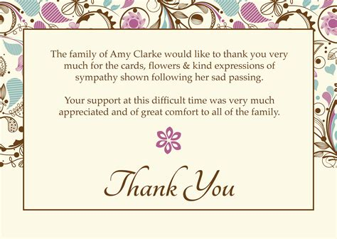 11 memorial cards for funeral template free lease template