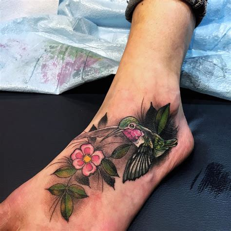 level up tattoo hummingbird neo traditional level up studio