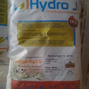 Nutrisi Hydroponik Ab Mix Hydro J Cabe jual nutrisi hidroponik ab mix buah hydro j pekatan 2 5 l 1 kg