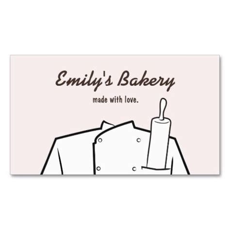 Rolling Pin And Whisk Business Card Template Pimk by 46 Best Bakery And Pastry Chef Business Cards Images On