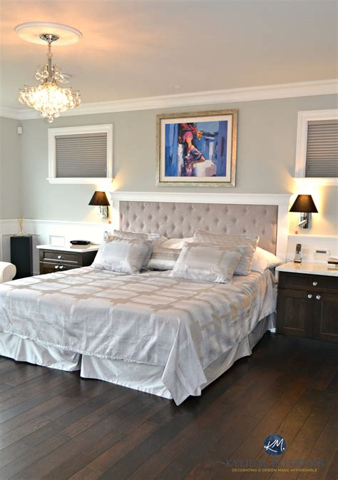 benjamin moore bedroom benjamin moore revere pewter in glam master bedroom with