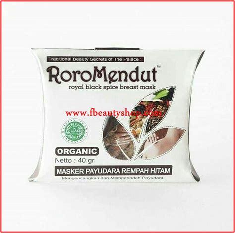 Masker Roro Mendut Payudara roro mendut brotowali masker jerawat organik
