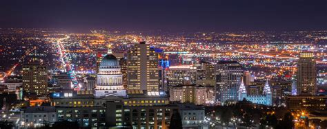 Salt Lake City Records Salt Lake City S Skyline Office Space Commands Top Dollar