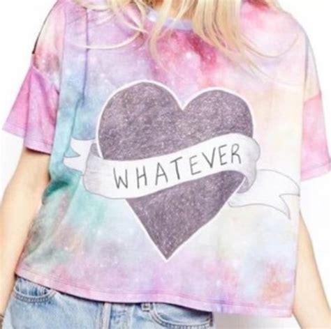 tumblr t shirt pattern blouse top shirt tumblr shirt t shirt pastel galaxy