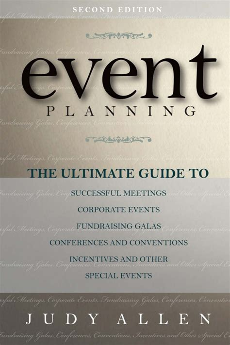for event planning event planning 2nd edition