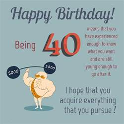 40th birthday wishes happy 40th birthday quotes and images