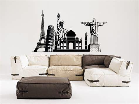 vinilos grandes de pared vinilo decorativo estilo varios monumentos grande para