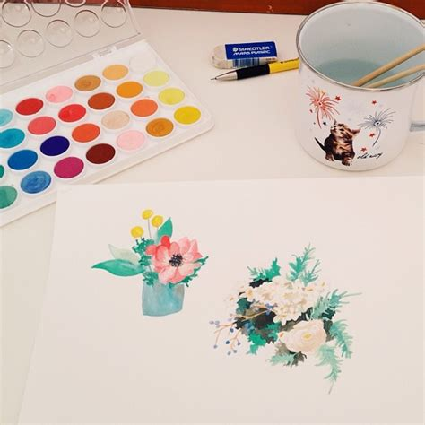 making it lovely watercolor painting inspiration making it lovely