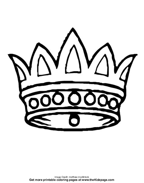 coloring crowns crown free coloring pages for printable colouring