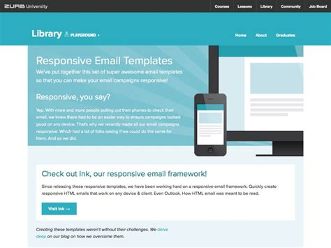 How To Make Your Emails Visually Appealing The Graphic Cave How To Make A Responsive Email Template
