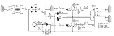 smps electronic transformer  halogen lamps