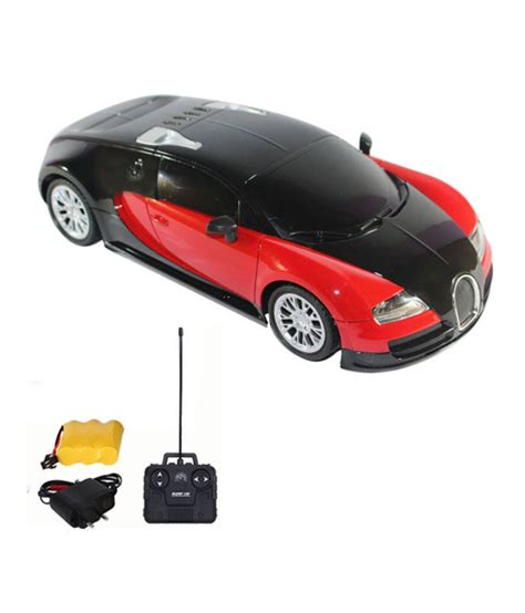 A2b Red Remote Control Rechargeable Bugatti Car   Buy A2b