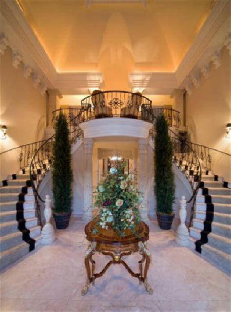 Foyer Villa by Italian Baroque Palace Luxury Home Design