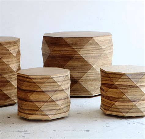 design milk coffee table diamond woods coffee tables stools by tesler