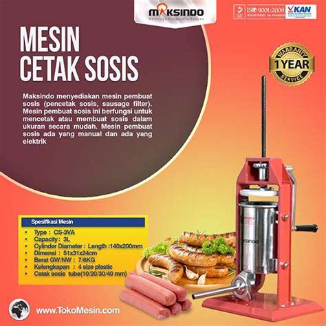 Harga Sosis mesin pembuat sosis dan pencetak sosis terbaru toko